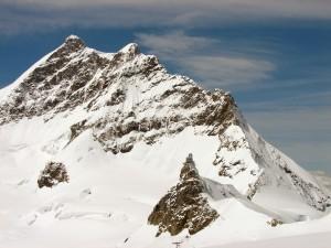 Vyhlídka nad konečnou stanicí Jungfraubahn